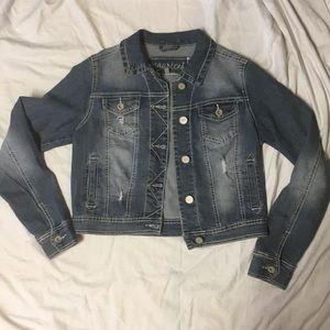 Women's/juniors jean jacket